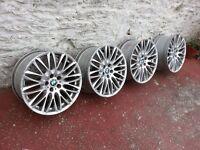 20 inch BBS alloys whells 5x120 et20