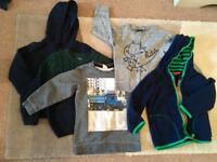 5 x Boys 18-24 months jumpers/fleece