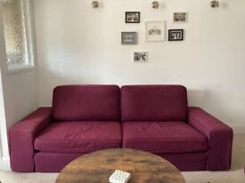 Three seater sofa and two seater sofa