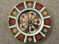 Royal crown derby china 1128 Imari side plate 16cm collectable item sort after