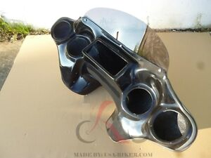 BATWING FAIRING WINDSHIELD YAMAHA ROADSTAR ROAD STAR 1600 1700 XV 99-09 F12 GC