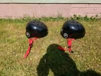Bike helmets X 2