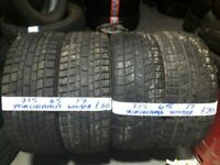 215 45 17 P/WORN TYRES 6MM YOKOHAMAS CONTIS ETC (WINTERS AV) LOADS MORE AV TXT SIZE PRICE & AV 7dys