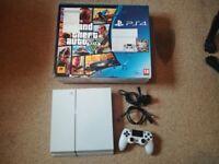 PS4 500GB GLACIER WHITE boxed