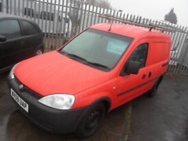 VAUXHALL COMBO 1.3 CDTI FULL TEST 09 REG 1 OWNER BIRTLEY CAR SALES DH3 1PR