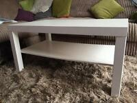 Ikea coffee dining table white
