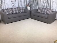 ** 1 YEAR WARRANTY ** BRAND NEW JADE 3+2 SOFA ON SPECIAL OFFER!!!