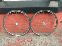 Mavic Open4 CD Shimano Sante wheelset 36 spoke Uniglide