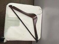 Wooden hangers and clip/trousers hangers