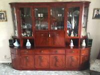 Beresford & Hicks wall unit / Trophy cabinet