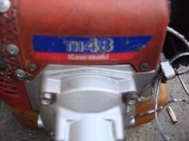 petrol trimmers th48 kawasaki full working ready to go
