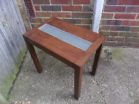 A Small Side Table-Coffee Table with glass centre piece-Furniture-Collect