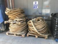 Ship rope apx 100ft call 07881857284