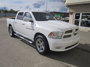 2012 Ram 1500 Sport - Heated seats leather touch screen