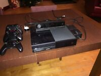 Xbox One Console, Kinnect, Controllers & 5 Games