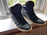 Mens River Island High Top Trainers UK 11