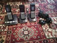 BT edge cordless trio phones
