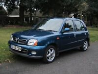 One Owner, Low Mileage, 5 Door, Nissan Micra SE+ Automatic in Excellent Condition.