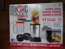 NutriBullet Magic Bullet blender - as new