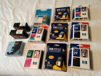 Vintage Genuine HP Ink Cartridges plus Others - All Brand New - Very Rare