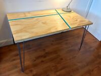 Craft table. Made to order 5 working days. Free delivery.