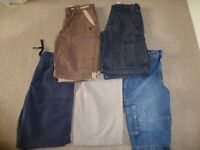 Five pairs of shorts for boys aged 8/9