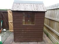 GARDEN SHED 5X4 DISMANTLE & COLLECT