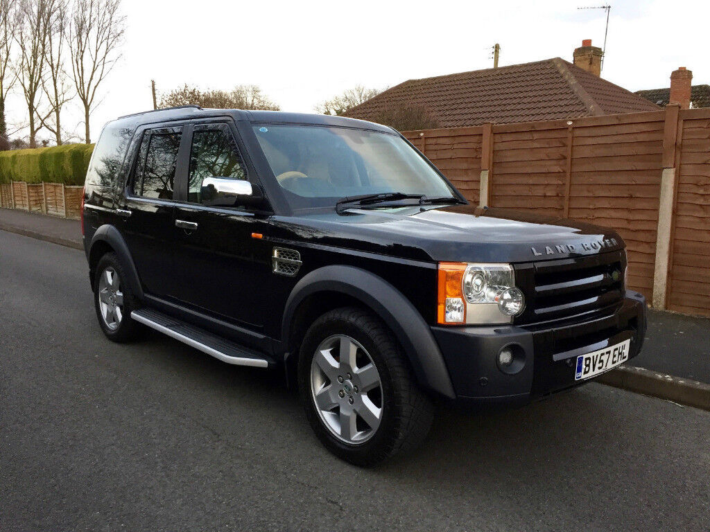 2007 LAND ROVER DISCOVERY III HSE 2.7TDDV6 AUTO BLACK 122000 MILES 7 SEATER