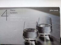 £20 Brand New 4 Metro Tumblers Design Project by John Lewis