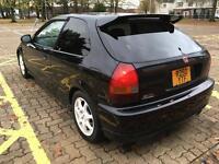 Honda Civic Ek9 black b16b low miles 98k