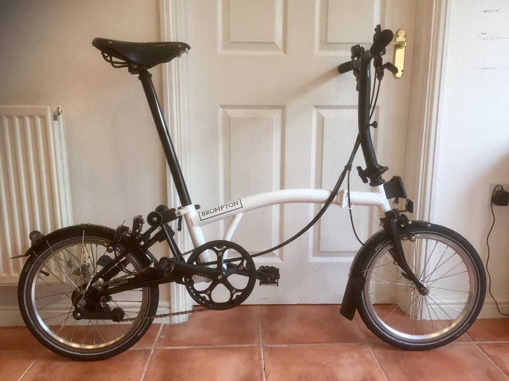 Brompton S6L (Black Edition) Folding Bike