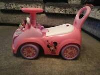 Mini mouse toddler car