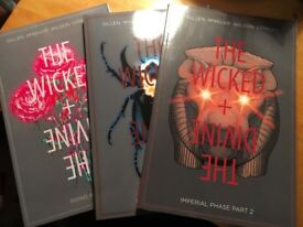 Graphic Novel/Image Comics - LIKE NEW (Wicked + Divine #4-6, The Sculptor)