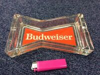 Budweiser Glass Ash Tray