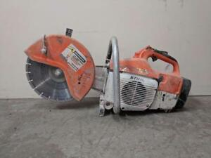 HOC STIHL CONCRETE SAW QUICK CUT OFF SAW TS400 FULLY REBIULT + WATER ATTACHMENT + 30 DAY WARRANTY + FREE SHIPPING