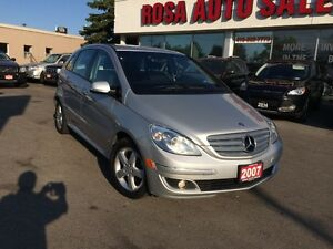 2007 Mercedes-Benz B 200 AUTO LOW KM NO ACCIDENT SAFETY ETEST PW