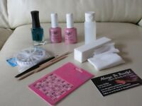 Selection of nail art items and more