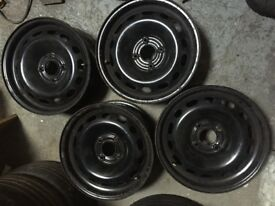 "15"" steel wheels for citroen berlingo"