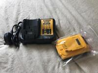 Dewalt battery & charger brand new