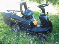 McCulloch R6562 Sit On Lawn Mower (needs new battery)