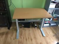 Electric desk for disabled people with special needs