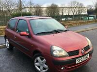 RENAULT CLIO 1.2 PETROL 3DR HATCHBACK-*LONG MOT*-LOW MILES-IDEAL FIRST CAR*BARGAIN*