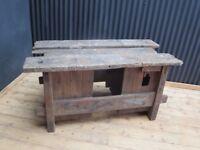 old school workbench