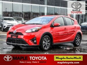 2018 Toyota Prius c B/T, LANE DEPARTURE, BACKUP CAMERA