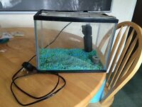 Small Fish tank w/ pump
