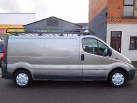 2008 Vauxhall Vivaro LWB low miles from new. Full Length Rhino roof rack and security door locks 5