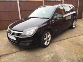 Vauxhall Astra Estate 1.9 SRI CDTI diesel 56 Reg black, recent cambelt change