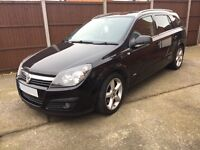 Vauxhall Astra Estate 1.9 SRI CDTI diesel 56 Reg black, recent cambelt change
