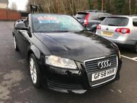 ***AUDI A3 1.9TDI CONVERTIBLE 2008/58 ONLY 76,400 MILES***
