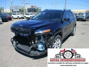 2015 Jeep Cherokee NORTH 4X4 V6 BALLON OK EN MARCHE